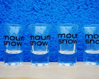 Customised Shot Glasses (available only when purchasing Shot Ski)