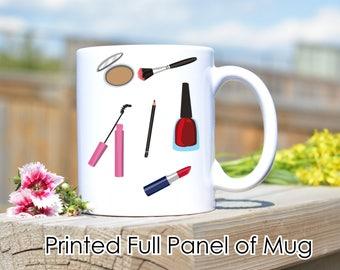 Makeup coffee mug,Makeup Blogger Mug,Beauty Blogger,Makeup Mug,Makeup Artist gift,Beauty Artist Gift,Makeup Lover Gift,Coffee Mug,Custom Mug