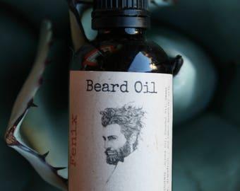 Beard Oil 2oz - Handmade - Jojoba and Coconut Oils and Essential Oils of Sweet Orange, Grapefruit and Lemon