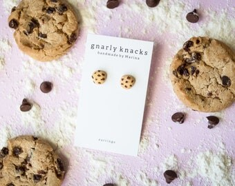 Chocolate Chip Earrings