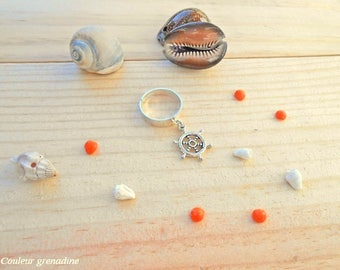 Ring gift idea, rudder charm celebrates the grand mothers, Easter