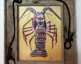 Famous Lobzilla Painting, by Nadine