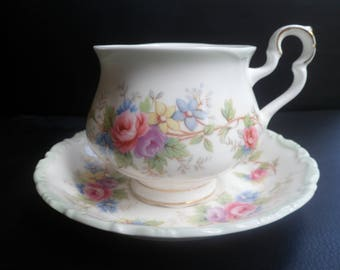 Royal Albert Colleen Tea Cup and Saucer