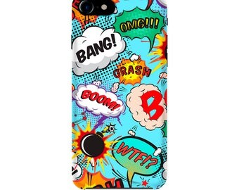 Comic Case for iPhone and Samsung, Marvel, DC