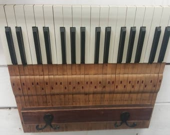 Piano Key Coat Hanger
