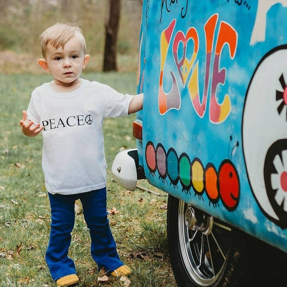 PEACE Tee, Kid's Tee, Peace Tee for Kids, Peace for Toddlers, Peace Tshirt