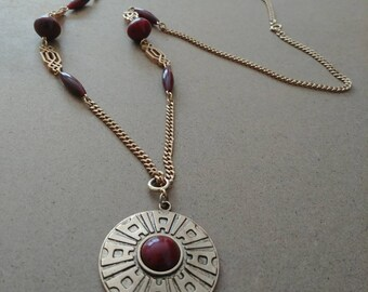Egyptian Medallion Necklace
