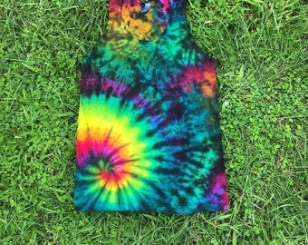 Swirl Crunch Tie Dye Tank Top