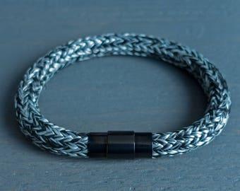 Mens Rope Bracelet, Man Bracelet, Mens Bracelet, Bracelet, Bracelet for Men, Bracelet Mens, Black and White Bracelet