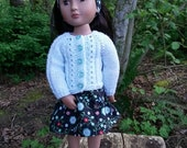 """16"""" doll clothes - 3 piece outfit to fit A Girl for All Time"""