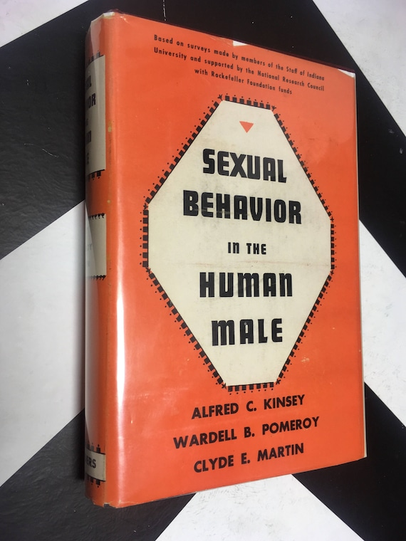 Sexual Behavior in the Human Male by Alfred C. Kinsey, Wardell B. Pomeroy, and Clyde E. Martin (Hardcover, 1948)