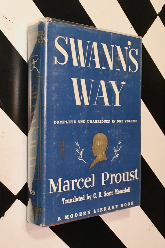 Swann's Way by Marcel Proust - Translated by C. K. Scott Moncrieff; Introduction by Lewis Galantiére (1956) Modern Library hardcover book