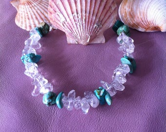Destash of semi precious stone bracelet