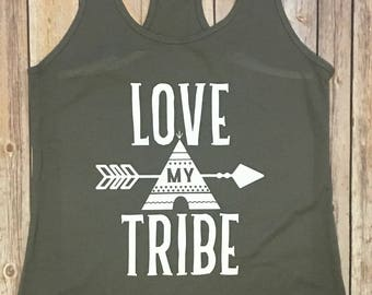 Love My Tribe Tank