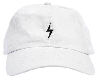 HP Lightning Bolt Scar Halloween Dad Hat Baseball Cap Low Profile