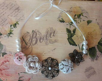 Artsy handmade necklace