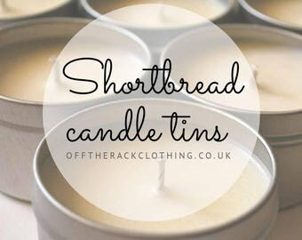 Scented Candle Tins - Small
