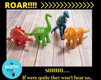 Custom Dinosaur, Dinosaur Figure, T Rex, Red, Blue, Green, Orange, Dino Decor, Stegosaurus, Tyrannosaurus, Triceratops, Brachiosaurus, Dino