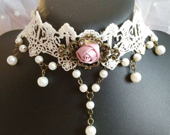 "Gothic necklace ""Beautiful bride"""