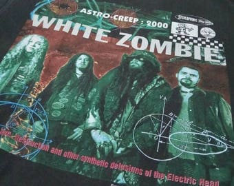 Vintage White Zombie shirt 1995 astro creep 2000 rob zombie shirt