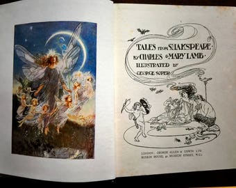 Antique Tales from Shakespeare - by Charles and Mary Lamb - Illustrated by George Soper
