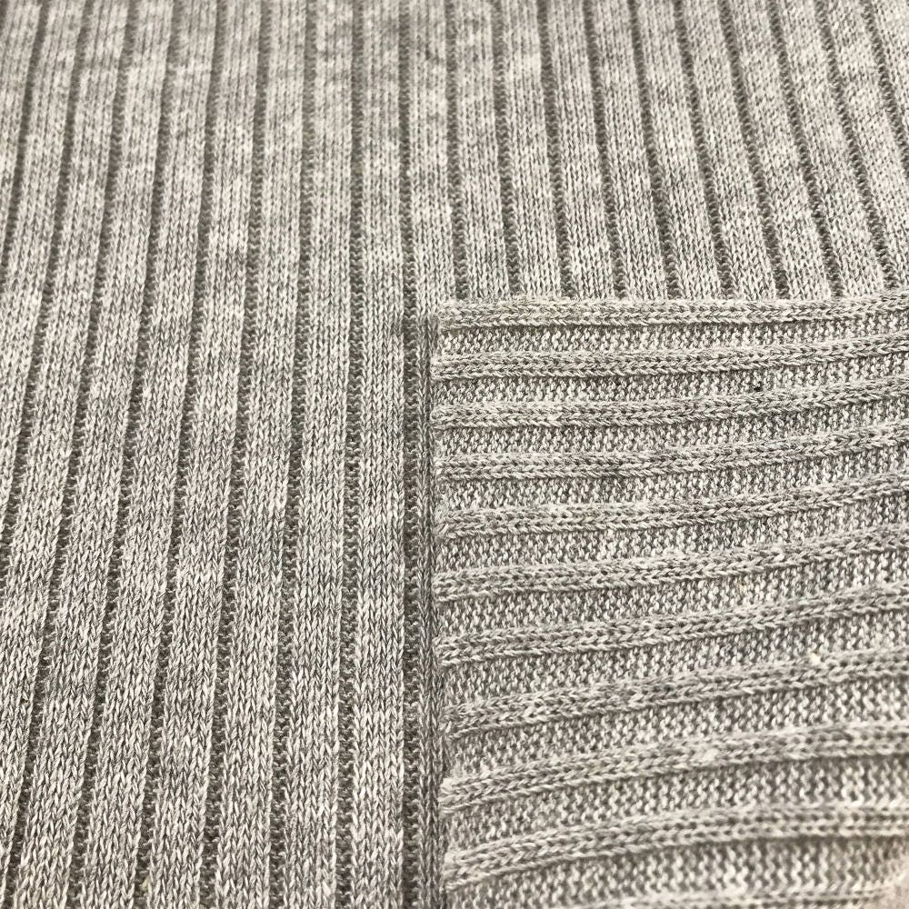 100% Cotton Sweater Rib Knit Fabric (Wholesale Price Available By ...