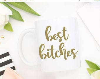 20% OFF ENTIRE SHOP best bitches Diy mug decal, Bridesmaid Gift, Maid of Honor Gift, Bff Gift, Bridal Party, Birthday Gift, Best Friends Gif
