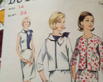 Vintage Butterick pattern size14#3918