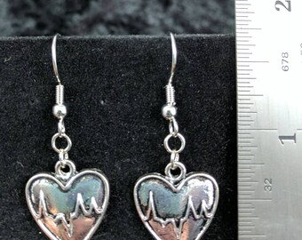 Heart/beat earrings #285