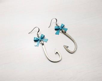 Rockabilly Pin earrings ' hook up