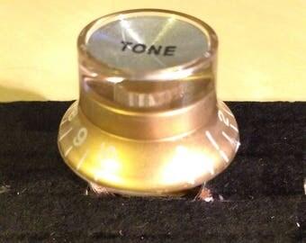 Golden Knob Ring