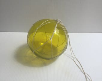 Japanese Vintage Blown Glass Fishing Buoy