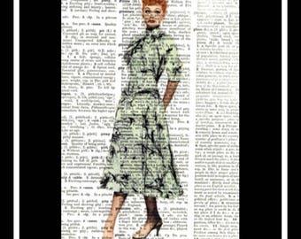 564 Vintage I love Lucy Art