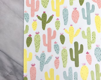 Cactus Print Happy Planner Dashboard Insert Planner Accessories Mambi Planner Supplies Back to School