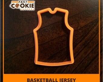 Basketball Jersey Cookie Cutter, Sport Cookie Cutter