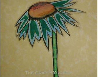 Dandelion, 4x6 Watercolor print