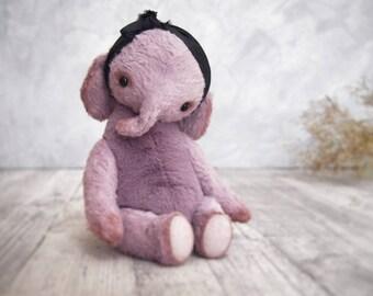 Teddy Artist Bear Elephant Violet toy