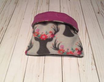 Snuggle sack, cozy cuddle, pet bed, pet sack, guinea pig, hedghog, gerbil, rat, mouse, chinchilla, pet blanket, bonding bag, cage liner
