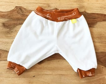 Baby Trousers, Airplane, Organic Cotton