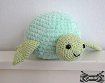 Crochet Supersoft Sea Turtle Amigurumi