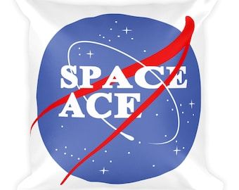 space ace Square Pillow