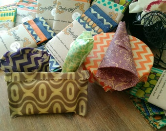Organic Beeswax food wraps
