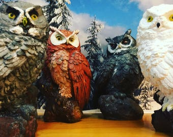 Harry Potter inspired owls
