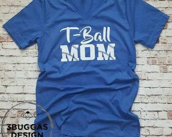 T Ball Mom Shirt, GAME DAY Shirt, TBall Shirt, Baseball Mom shirt, Mom of boys, T-ball tee,