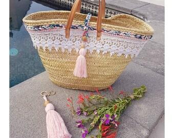 Lace & Liberty basket