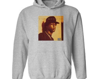 Dj Quik Quik Is The Name Hoodie Classic Vintage Style Hip Hop Fleece Sweatshirt Rap Merch West Coast Rap Gangsta Rap New