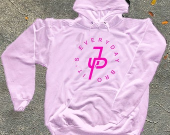 Jake Paul Its Everyday Bro Hoodie, Mavericks Merch (Neon Pink Logo)