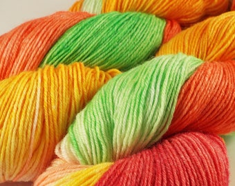 Hand-dyed sock wool, hand dyed yarn, sock yarn