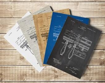 Safety Razor, Safety Razor Print, Gillette Razor Print, Gillette Razor, Bathroom Sign,Barber Art,Antique Razor,Barber Gift, INSTANT DOWNLOAD