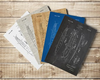 Surf Poster, Surfboard Wall Decor, Vintage Surf Art, Surfboard Art Print, Surfboard Patent, Surf Beach Decor, Surf Patent, INSTANT DOWNLOAD